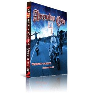 Adrenaline Crew 4 - Verdict Guilty Directors Cut Motorcycle Stunt Documentary DVD Video