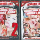 "Fuckhouse Films ""Amazing Deep Throat Anal"" DVD 140 min."