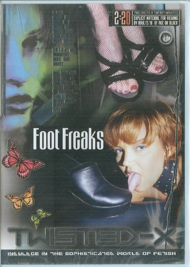 "Twisted-X ""Foot Freaks"" foot fetish DVD 2006 140 minute"