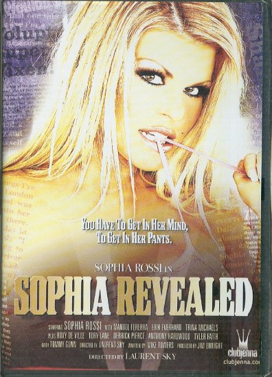 """Club Jenna """"Sophia Revealed"""" DVD Sophia Rossi 2006"""