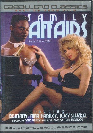 "Caballero Classics Nina Hartley ""Family Affairs"" DVD"
