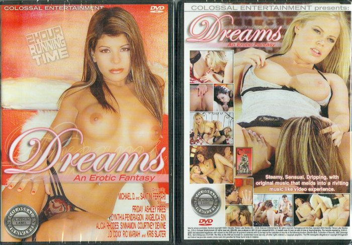 "Colossal Entertainment ""Dreams: An Erotic Fantasy"" DVD"
