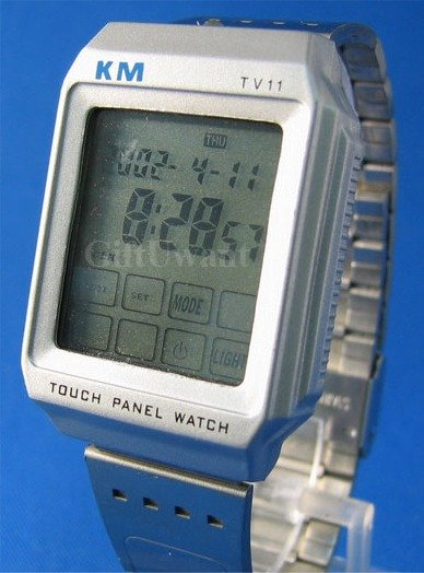 Touch Screen TV / DVD Remote Control WRIST WATCH (TV11)