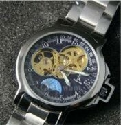 Mechanical Movement Stainless Steel Watch - MS001