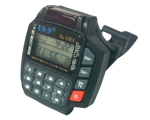 TV / VCR / DVD / VCD / SAT Remote Control With Calculator Backlight WRIST WATCH(SL083)