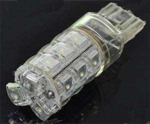 7440 18-LED Car White Turning Signal Light Bulb (DC 12V)