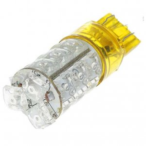 7443 18-LED Car Red Brake Signal Light Bulb (DC 12V)