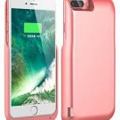 8000mAh Rose Gold Battery Case for iPhone 7