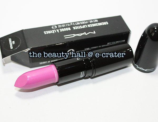 Free Shipping - OUTRAGEOUSLY FUN MAC Lipstick Cremesheen