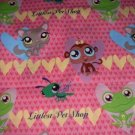 MadieBs My Little Pet Shop  Crib Sheet Custom New