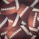 MadieBs FootBall FootBalls  Custom  Pillowcase w/Name