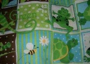 MadieBs Turtle Frog Lizard  Custom  Pillowcase  w/Name