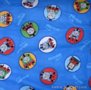 MadieBs Thomas the Train Circle   Pillowcase  w/Name