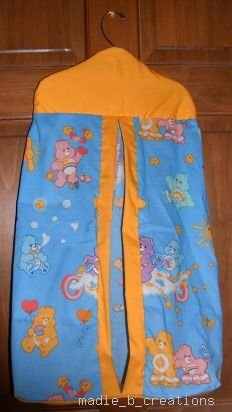 MadieBs Custom  Playful Carebears   Diaper Stacker