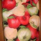 MadieBs Red Green Apples  Plastic Bag Holder Dispenser