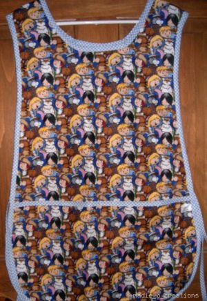 MadieBs Children School Fun  Custom Smock Cobbler Apron