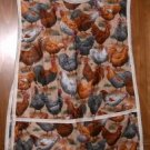 MadieBs Hens Roosters Chick  Custom Smock Cobbler Apron