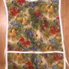 MadieBs Birds Fruit Pretty  Custom Smock Cobbler Apron
