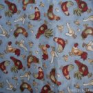 MadieBs Country Blue Chicken Custom Smock Cobbler Apron