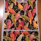 MadieBs Parrots Lovebirds Custom Smock Cobbler Apron