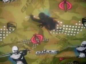MadieBs Set of 2  G. I. Joe Cobra Crib Sheets New