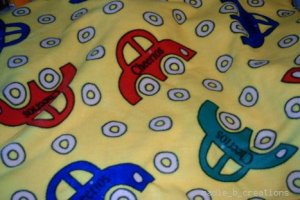 MadieBs Cars Cherrio Fleece Toddler Baby Blanket 30c36