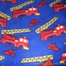 MadieBs Firetrucks  Fleece Toddler Baby Blanket 30c36