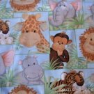 MadieBs Jungle babies Custom /Toddler Bed Sheet Set