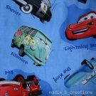 MadieBs Blue Cars McQueen Custom /Toddler Bed Sheet Set