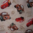 MadieBs Tan Cars McQueen Custom /Toddler Bed Sheet Set
