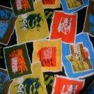 MadieBs Shrek Patch  Crib/Toddler Bed Sheet Set