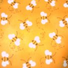 MadieBs Cute Yelllow Bees Crib/Toddler Bed Sheet Set