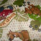 MadieBs Scooby Doo Safari Crib/Toddler Bed Sheet Set