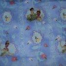 MadieBs Prince Princess Blu  Crib/Toddler Bed Sheet Set