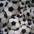 MadieBs Soccer Sports  Crib/Toddler Bed Sheet Set