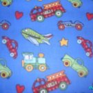 MadieBs Cars Trucks Planes  Crib/Toddler Bed Sheet Set