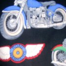 MadieBs Set of 2 Bikes Biker Crib Sheets New