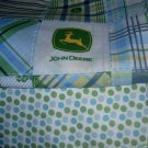 MadieBs Custom John Deere w/Dots Baby Bed Quilt Blanket