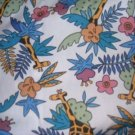 MadieBs Giraffes in Jungle Crib/Toddler Bed Sheet Set