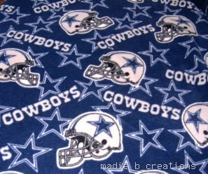 MadieBs Fleece Sheet Hospital Bed Dallas Cowboys  New