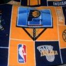 MadieBs Indiana Pacers  Fleece Toddler Baby Blanket