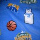 MadieBs Denver Nuggets NBA Fleece Toddler Baby Blanket