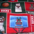 MadieBs Miilwaukee Bucks Fleece Toddler Baby Blanket
