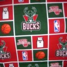 MadieBs Milwaukee Bucks NBA Custom  Pillowcase  w/Name