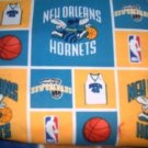 MadieBs New Orleans Hornets Custom  Pillowcase  w/Name