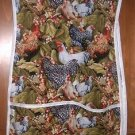 MadieBs Colorful Chickens  Custom Smock Cobbler Apron