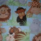 MadieBs Set of 2  Jungle Babies Custom   Crib Sheets