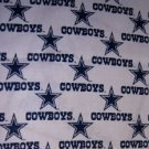 MadieBs Set of 2  Dallas Cowboys White  Crib Sheets