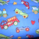 MadieBs Set of 2 Cars Trucks Blue Custom  Crib Sheets
