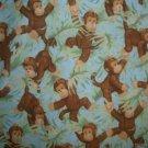 MadieBs Cute Monkeys Custom  Window Valance New